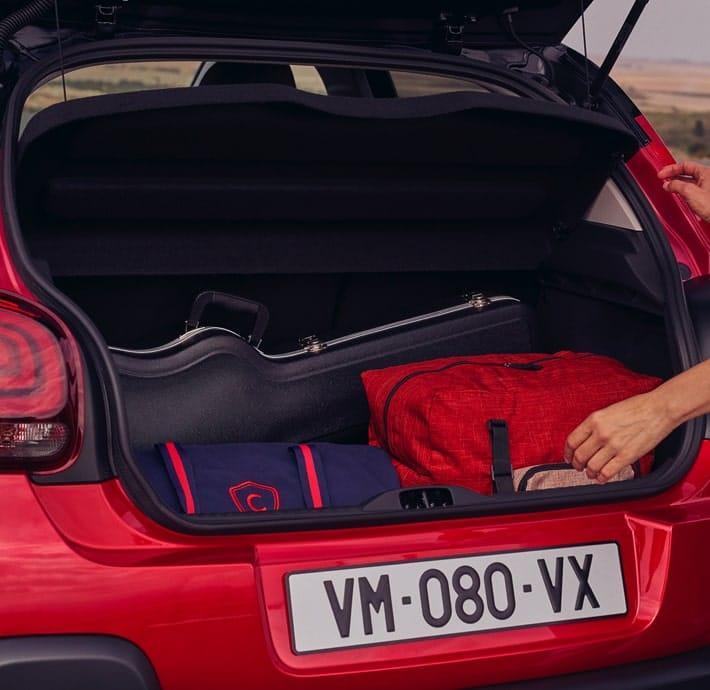 Confort Citadine Citroën C3 Valréas coffre spacieux