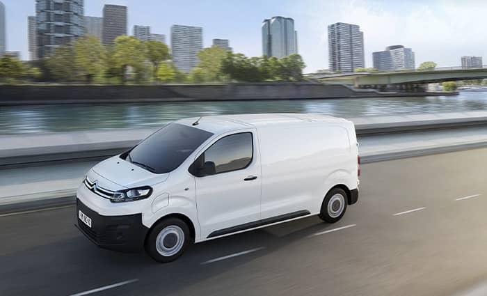 utilitaire électrique Citroën ë-Jumpy Varéas