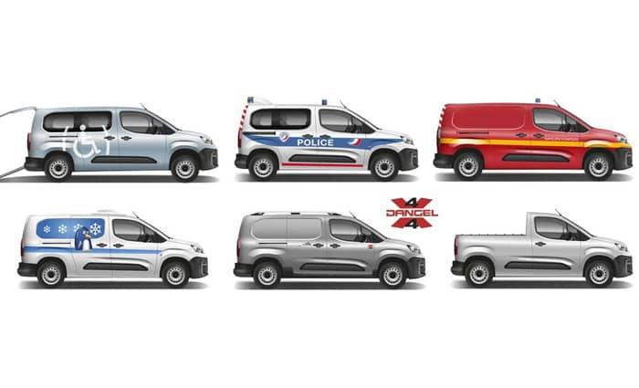 Configurations Citroën Berlingo Van