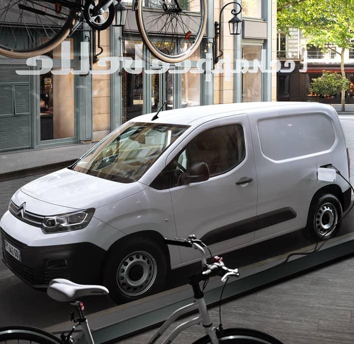chargement utilitaire Citroën ë-berlingo van Valréas