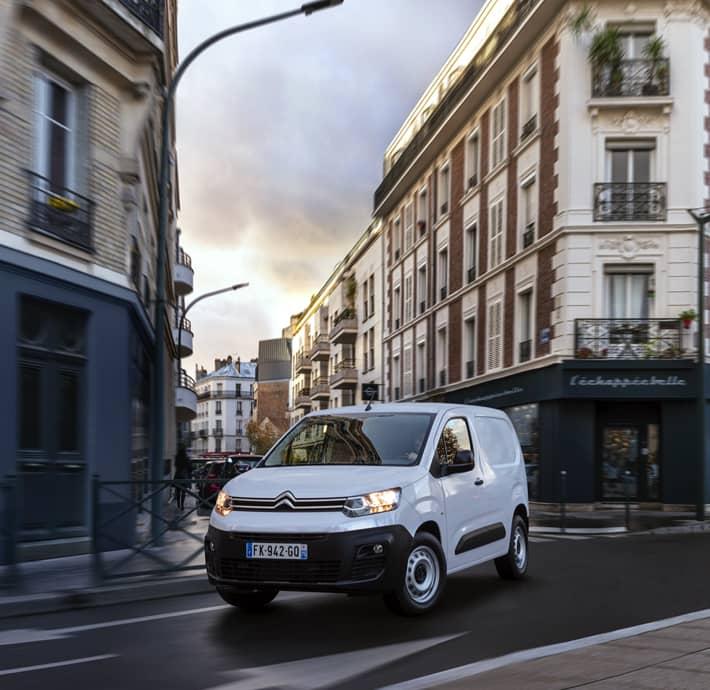 Fourgon électrique et économique Citroën ë-berlingo van