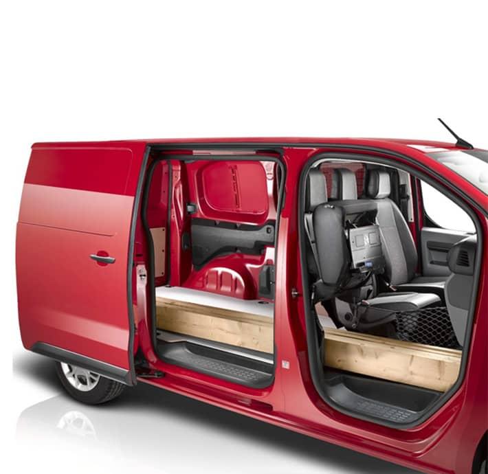 Modularité Citroën Jumpy utilitaire valréas