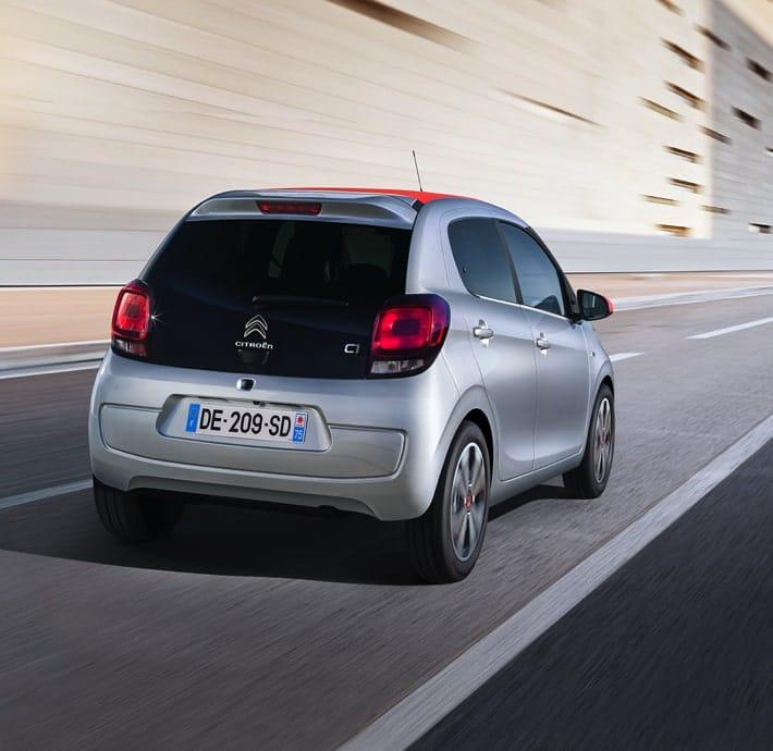 Technologies Citadine Citroën C1 Valréas boite automatique