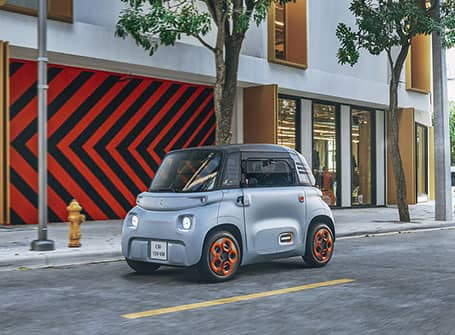 Citroën AMI électrique et sans permis